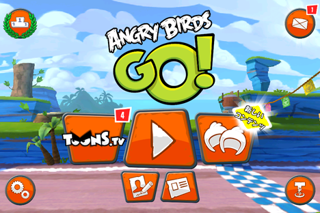 Angry Birds Go! 通信対戦に対応