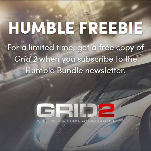 『GRID2』Humble Bundleで無料配布中